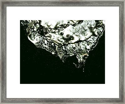 The Edge Framed Print by Robert Cunningham