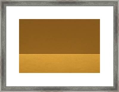 The Edge Framed Print by Rudy Van Acker