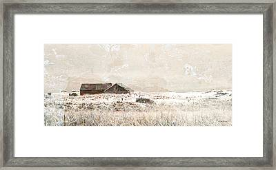 The Effects Of Time Framed Print by Michelle Wiarda