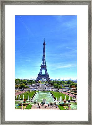 The Eiffel Tower Framed Print by Barry R Jones Jr