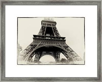 The Eiffel Tower Framed Print by Hakon Soreide