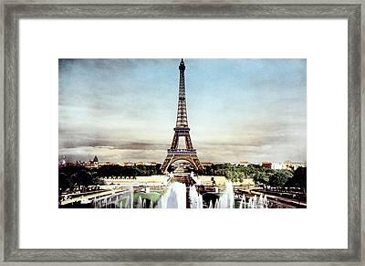 The Eiffel Tower, Paris, C. 1920 Framed Print by Everett