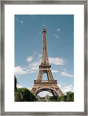 The Eiffel Tower, Paris Framed Print by Martin Diebel