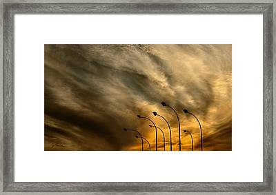 The Elders At Dusk No. 2 Framed Print by Joe Bonita