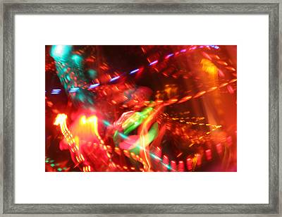 The Electric Cosmos      Nebula Traffic Jam Framed Print by Artist Orange