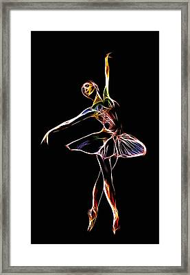 The  Electric Diva Framed Print