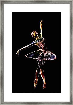 The  Electric Diva Framed Print by Steve K
