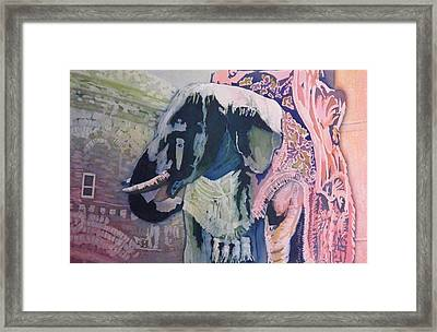The Elephant Watches Framed Print