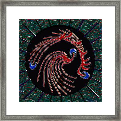 The Emperors Shield Framed Print by Alec Drake
