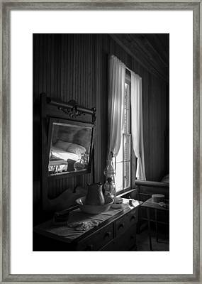 The Empty Bed Framed Print