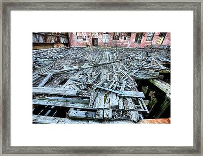The Empty Planet Framed Print by JC Findley