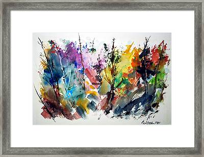 The Enchanted Forest Framed Print by Wilfred McOstrich