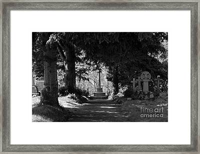 The End Framed Print by Brian Roscorla