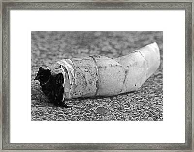 The End Framed Print by Karen Harrison