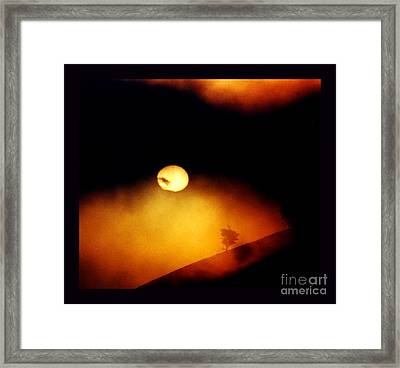 The End Of Reason Framed Print by Susanne Still
