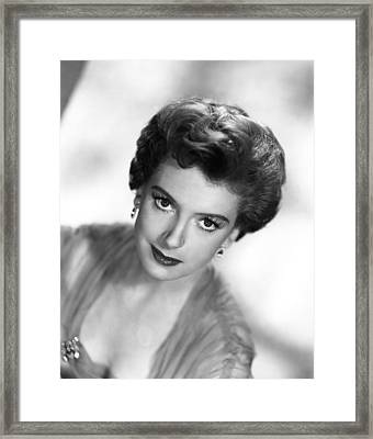 The End Of The Affair, Deborah Kerr Framed Print