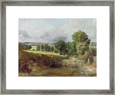 The Entrance To Fen Lane By Constable John Framed Print