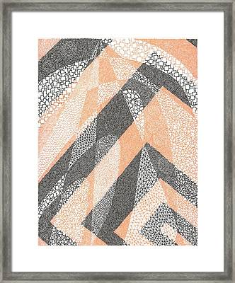 The Epistemology Of Prophecy Framed Print by William Burns