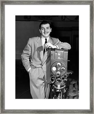 The Ernie Kovacs Show, Ernie Kovacs Framed Print