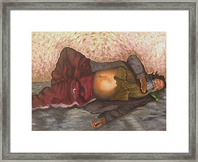 The Escape La Fuga Framed Print by Fernando A Hernandez