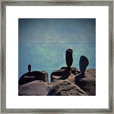 The Expanse Framed Print
