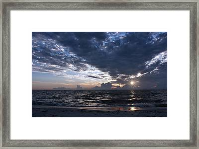 The Eye Of Hope Framed Print
