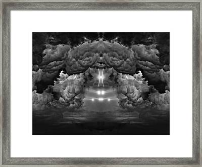 The Eye Of Horus Framed Print by My Minds  Photographer
