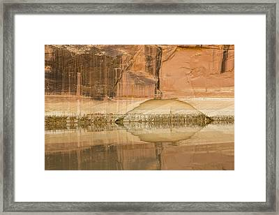 The Eye Of The River Framed Print by Tim Grams