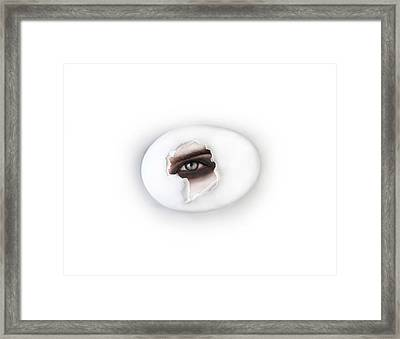 The Eye Framed Print by Yosi Cupano