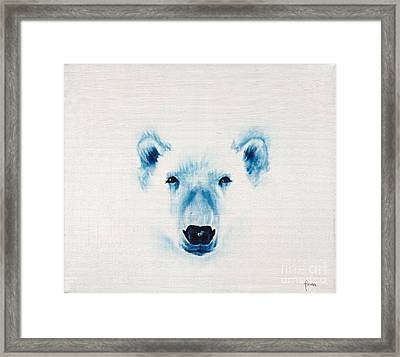 The Face Of The North Framed Print by Annemeet Hasidi- van der Leij