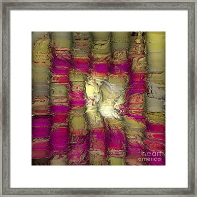 The Face Within Framed Print by Deborah Benoit