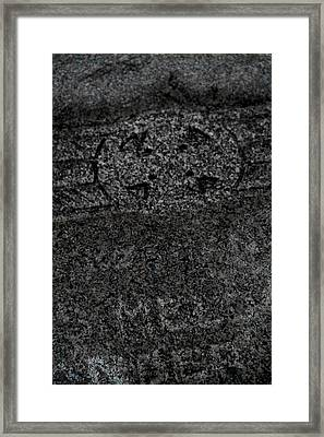 The Fading Framed Print