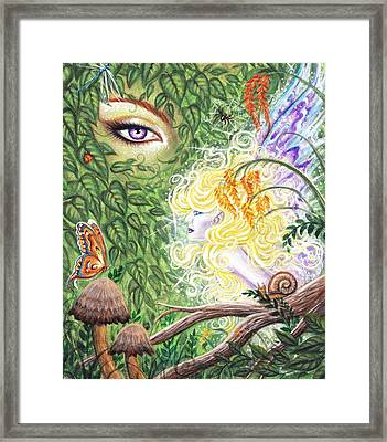 The Faerie World Framed Print by Leon Atkinson