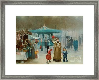 The Fairground  Framed Print