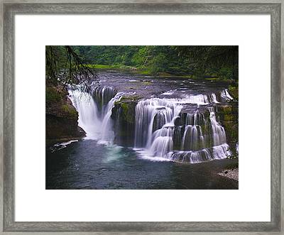 Framed Print featuring the photograph The Falls by David Gleeson