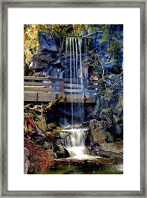 The Falls Framed Print by Deena Stoddard