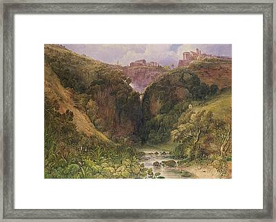 The Falls Of Tivoli Framed Print