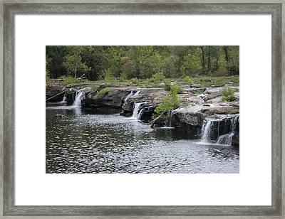 The Falls Framed Print by Static Studios