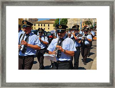 The Fanfare Framed Print by Dany Lison