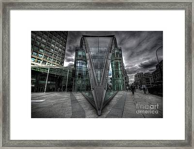 The Fang Framed Print by Yhun Suarez