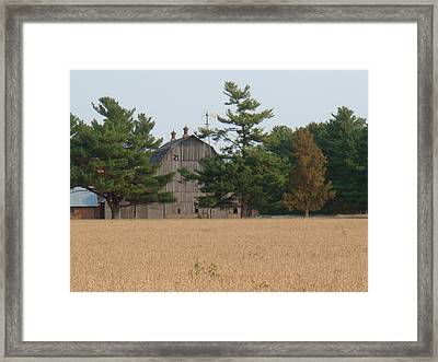 Framed Print featuring the photograph The Farm by Bonfire Photography