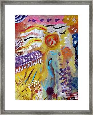 The Farmer Framed Print by Noorit Talari