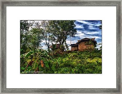 The Farmer's House Framed Print