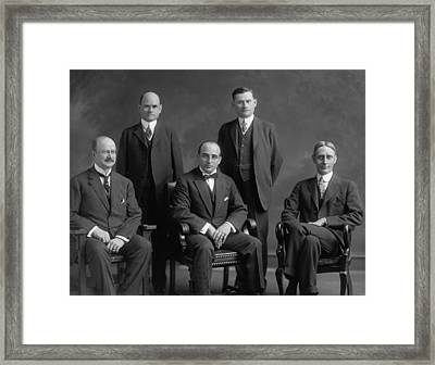 The Federal Trade Commission Ftc Framed Print by Everett