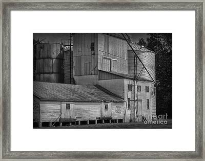 The Feed Mill Framed Print by Tamera James
