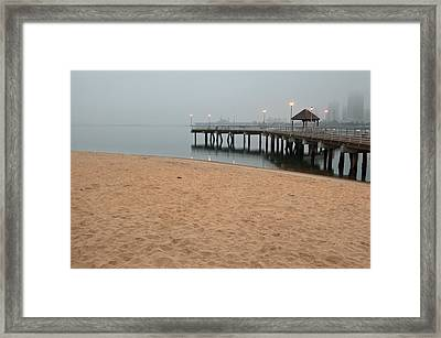 The Ferry Landing Framed Print