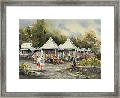 The Festival Framed Print by Sam Sidders