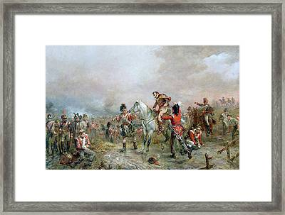 The Field At Waterloo Framed Print by Robert Alexander Hillingford