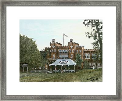 The Final Ball At Culver Framed Print