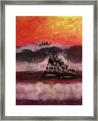 The Final Passage Framed Print by Stephen Roberson